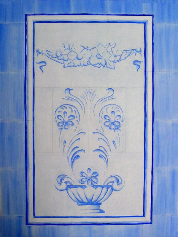 Decor - imitation faience