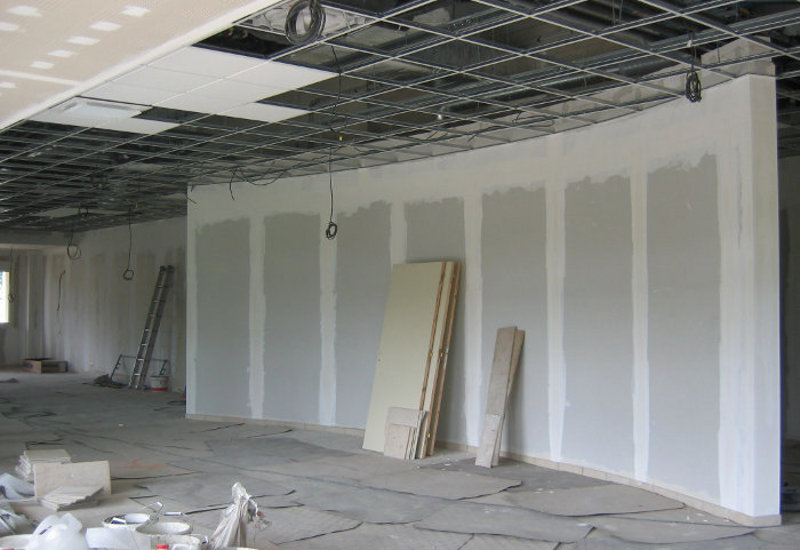 Salle de reception - avant travaux de decoration